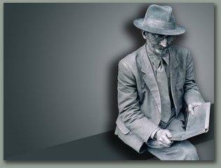 el hombre estatua